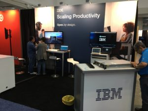 OpenStack Boston IBM Booth