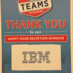 IBM happy hour sponsorship