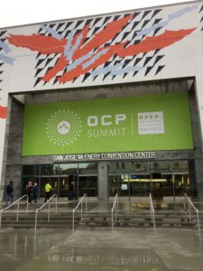OCP Summit 2018 at the San Jose Convention Center